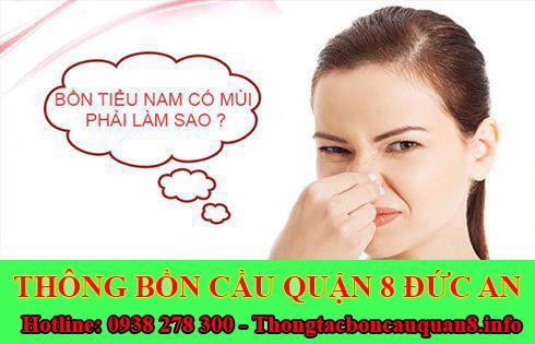 Dịch vụ xử lý mùi hôi nhà vệ sinh Quận 8 giá rẻ 0938278300