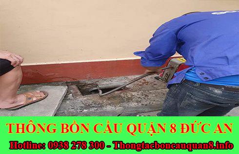 Sửa cống nghẹt Quận 8 giá rẻ 0938278300 bảo hành 5 năm