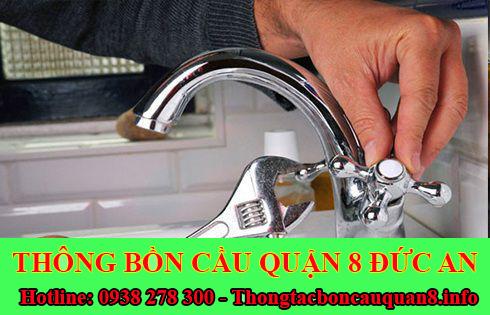 Thợ sửa bồn rửa chén bát Quận 8 tại nhà giá rẻ 0938278300