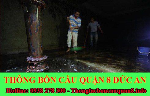 Bảng giá vệ sinh bể chứa nước ngầm Quận 8 giá rẻ 0938278300
