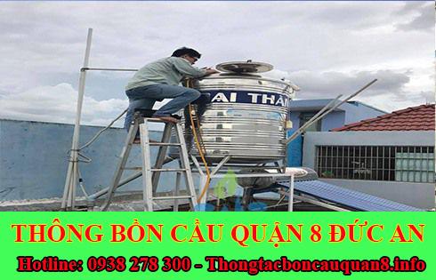 Bảng giá vệ sinh bồn nước tại Quận 8 giá rẻ 0938278300 uy tín